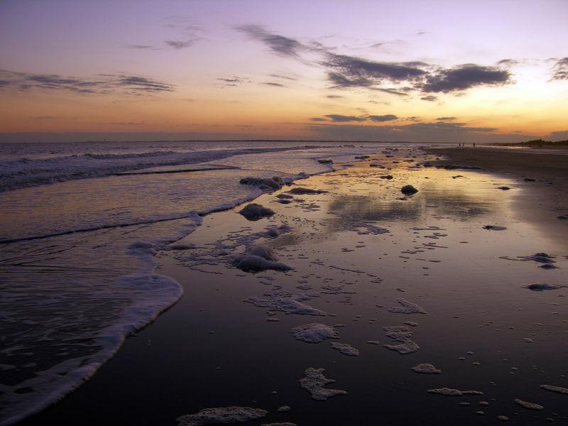 Sullivan's Island Sunset 1 November 2008