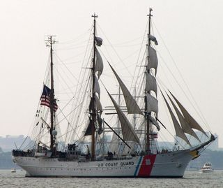USCG Eagle Full Image 29 June 2009