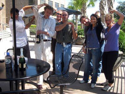 Blebbing Scientists in Honor of Mr Neely 28 September 2009