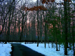 Sunset 26 December 2009