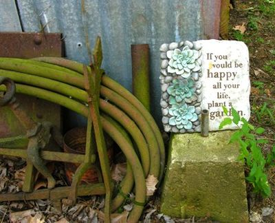 If you be happy plant a garden 26 June 2010