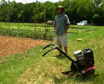 Brian of Garden City Organics 29 June 2010