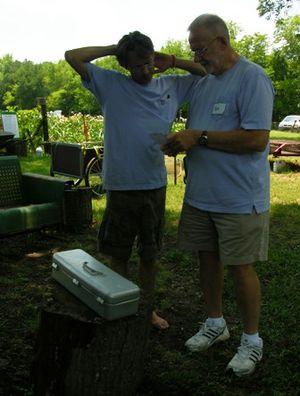 Jenks and Bob 29 June 2010