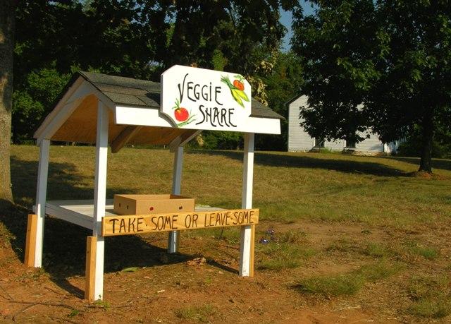 Earlysville Veggie Share 5 July 2010