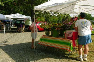 Earlysville Farmers Market 22 July 2010