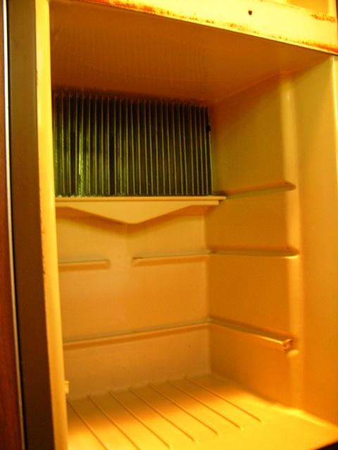 Airstream Refrigerator 8 August 2010
