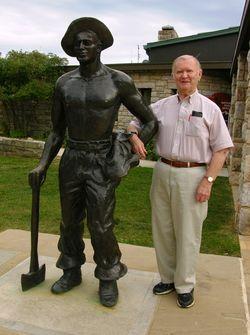 Dad and Harry Flood Byrd, Sr 14 September 2010
