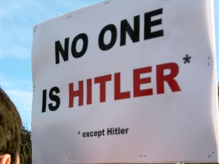 Rally No One is Hitler Except Hitler