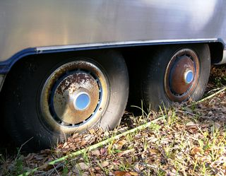 Tires prior to air added 18 November 2010