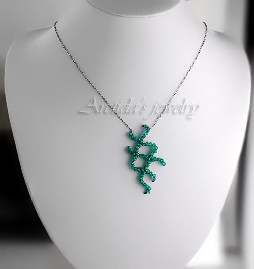 Cyanobacteria necklace
