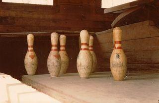 Yellow Sulphur Springs Bowling Pins