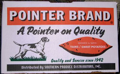 Pointer Brand Sweet Potatoes 19 January 2011