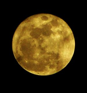 Supermoon 19 March 2011