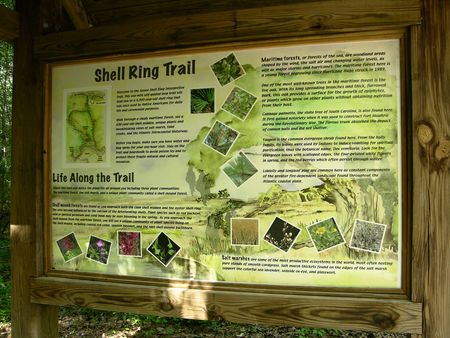 Shell Ring Trail Board 17 May 2011