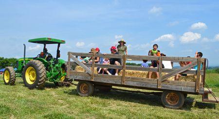Tractor and Wagon 26 May 2012