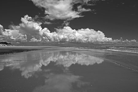 Cloud Reflection I B&W 15 July 2012
