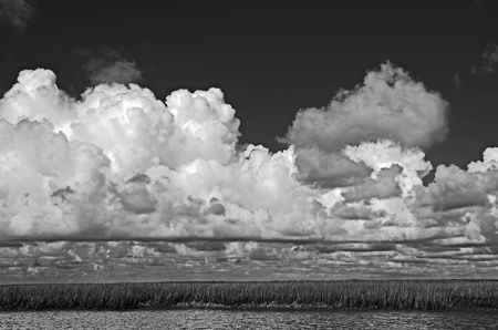 Clouds over the Marsh 15 July 2012