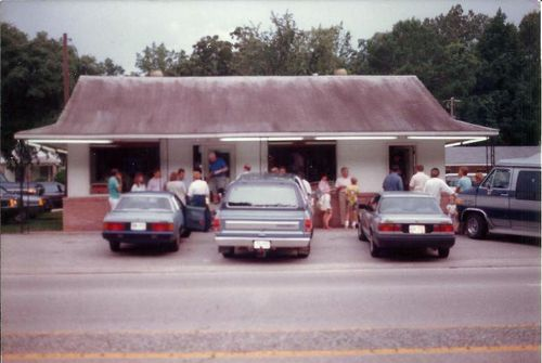 Front of Edisto Motel Restaurant