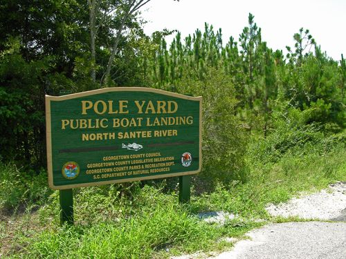 Pole Yard Sign