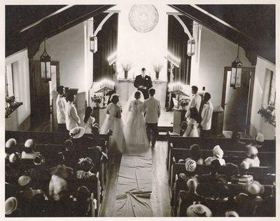 Aerial Photo of Wedding