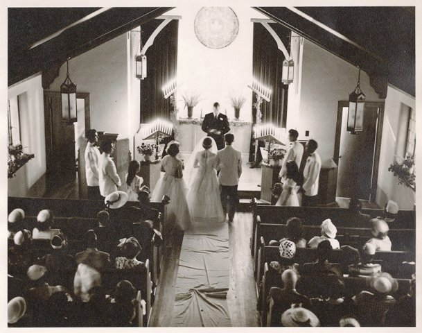 Aerial Photo of Wedding