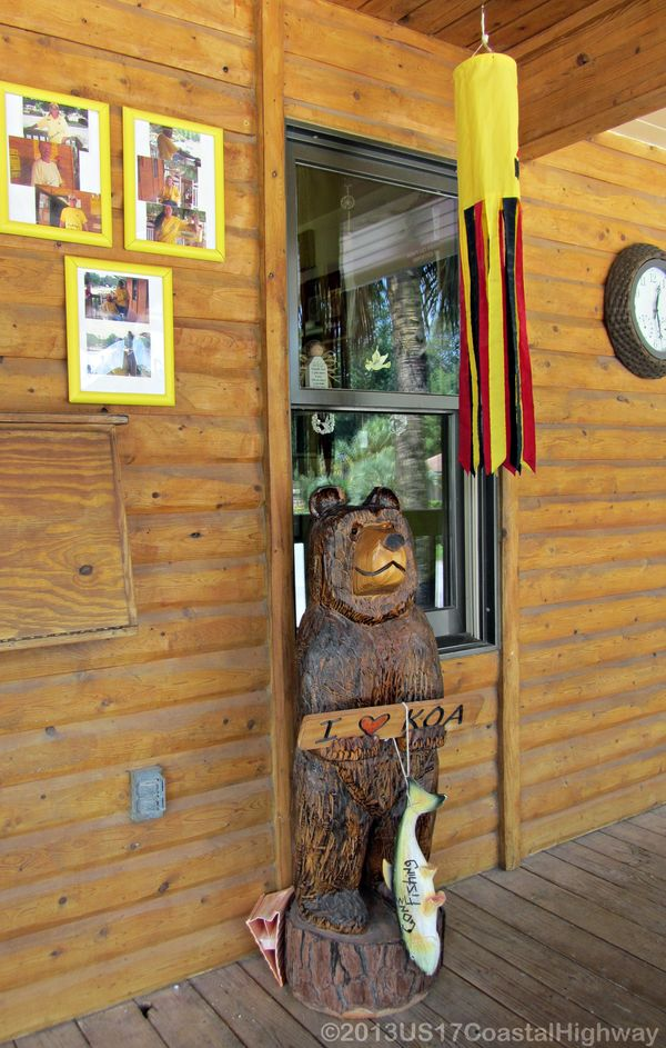 KOA Store Bear with WM 4 August 2011