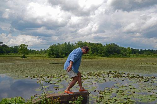 Jeff Kopish Preparing for his Dismount (22 June 2013).