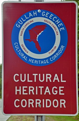 Gullah Geechee Cultural Heritage Corridor Sign 31 July 2013