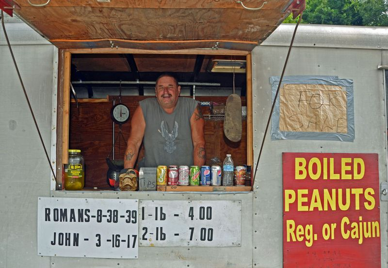 3Boiled Peanut Man with One Eyed Pete 22 June 2013