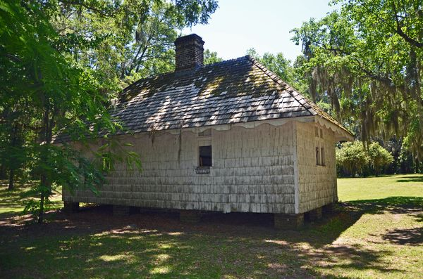 Hopsewee Plantation Slave Cabin II 16 May 2013