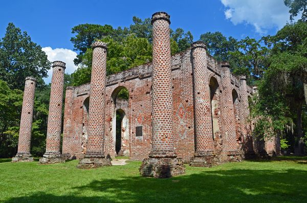 Old Sheldon Church Ruins Yemassee SC 7 September 2013