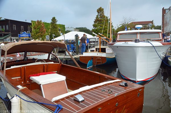 Georgetown Wooden Boat Show XXII with WM 19 October 2013