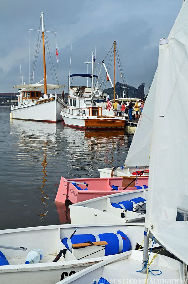 Georgetown Wooden Boat Show with WM 19 October 2013