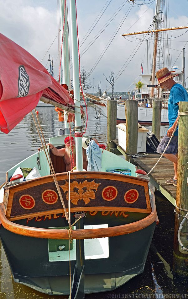 Georgetown Wooden Boat Show XVI with WM 19 October 2013