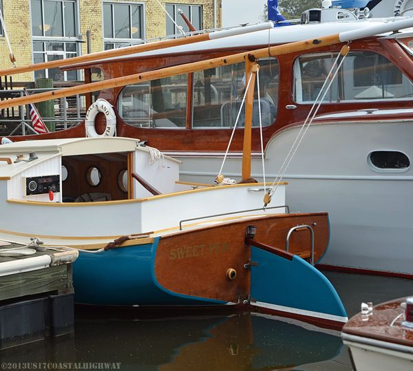 Georgetown Wooden Boat Show XXIII with WM 19 October 2013