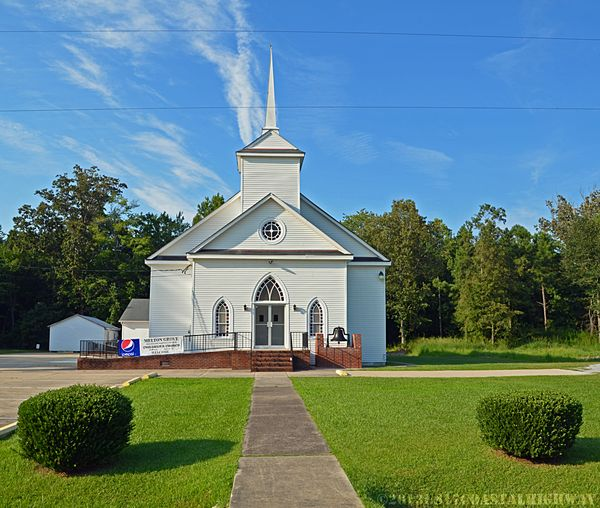 Melton Grove Missionary Baptist Church Winfall NC 14 August 2013