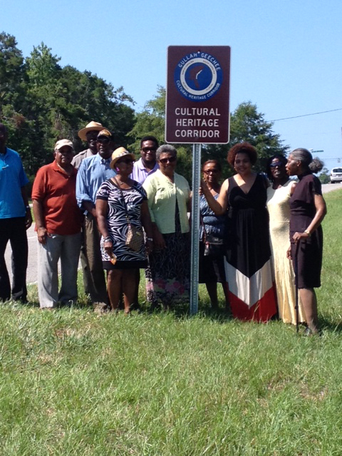 GG Group shot roadside sign dedication