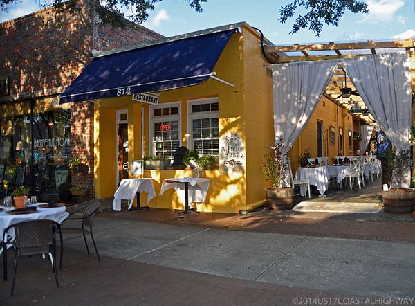 Alfresco Bistro Georgetown SC with WM 21 January 2014
