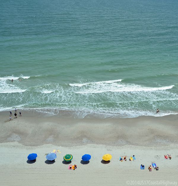 Myrtle Beach View from Sky Wheel with WM 19 May 2014