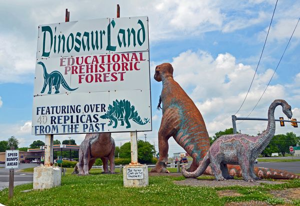 Dinosaur Land by Road with WM 10 June 2014