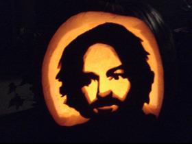 Wes_charles_manson_pumpkin