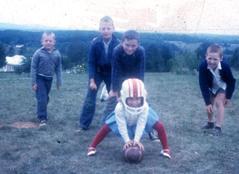 Pam_and_gary_playing_football